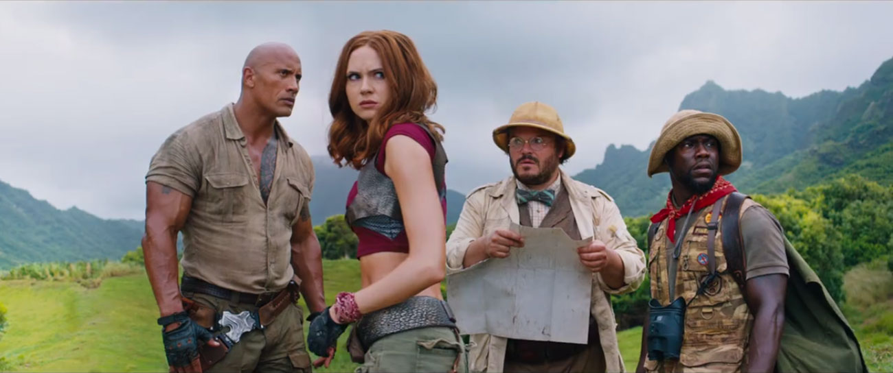 """Everyone in """"Jumanji: Welcome to the Jungle"""" Is a Winner, but Jack Black Is the MVP"""