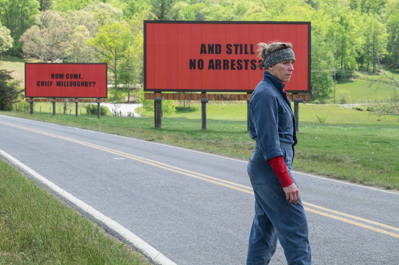 "Oscar Nominated Film Review: ""Three Billboards Outside Ebbing, Missouri"""