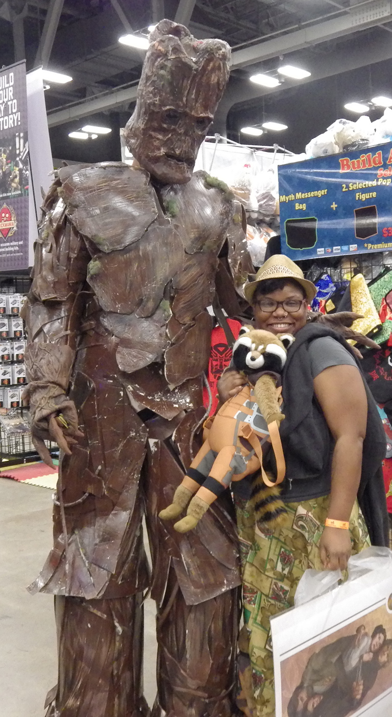 me and groot