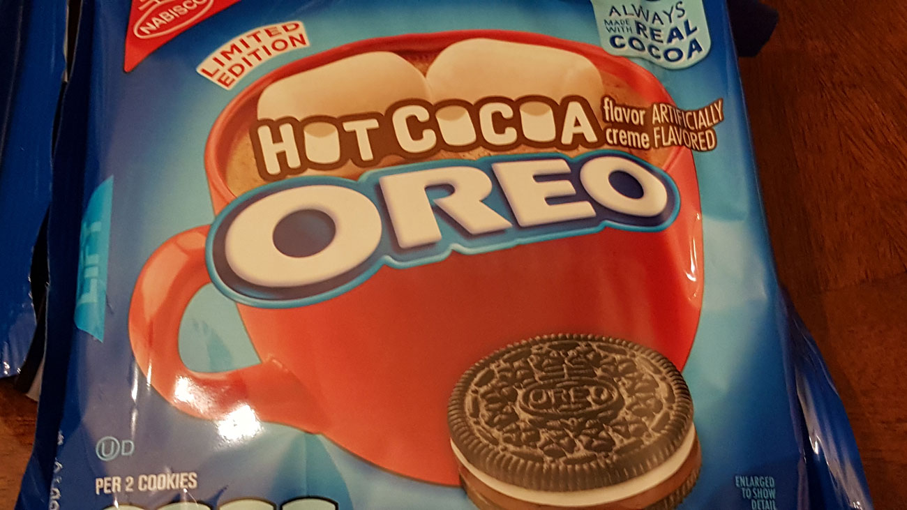An Inadvertently Sexually Sounding Review of Hot Cocoa Oreos